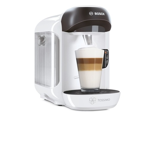 bosch tassimo vivy ii tas1254gb multi drinks pod coffee machine snow white refurbished offers. Black Bedroom Furniture Sets. Home Design Ideas