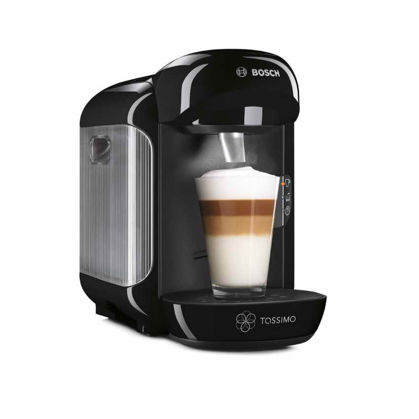 Bosch Tassimo Vivy TAS1202GB T12 Multi Hot & Cold Drinks Pod Machine Black Refurbished Offers