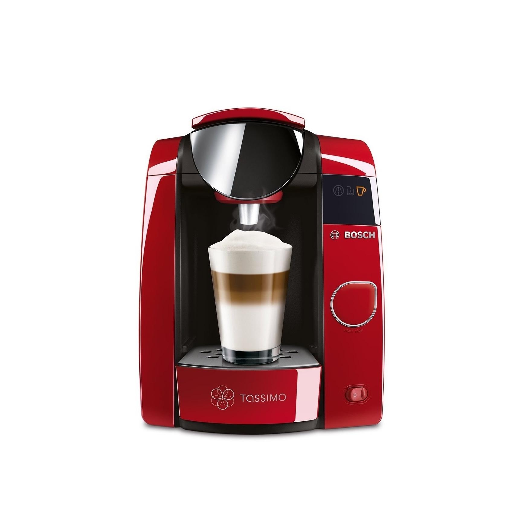 bosch tassimo joy 2 t45 red multi drinks pod machine. Black Bedroom Furniture Sets. Home Design Ideas
